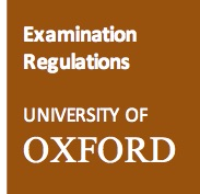 Link to University Exam Regulations pages