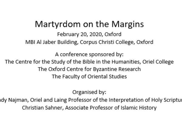 Martyrdom on the Margins