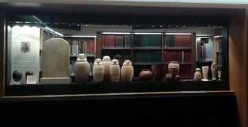 Peet Library display